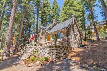 Tahoe Stone Cottage at Tahoe Moon Properties is one of the many cabins and house rentals to enjoy on your vacation
