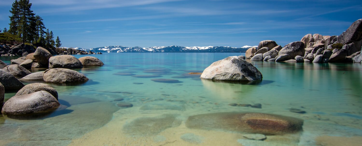 sand harbor is one of the best beaches in north lake tahoe
