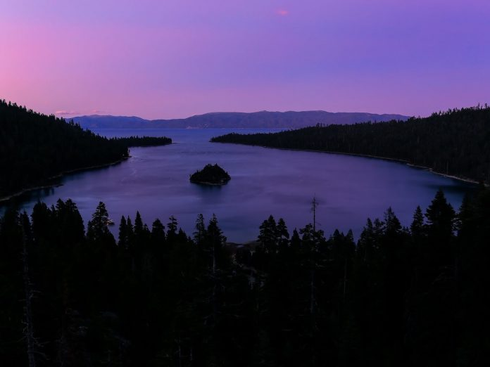 emerald bay state park in north lake tahoe