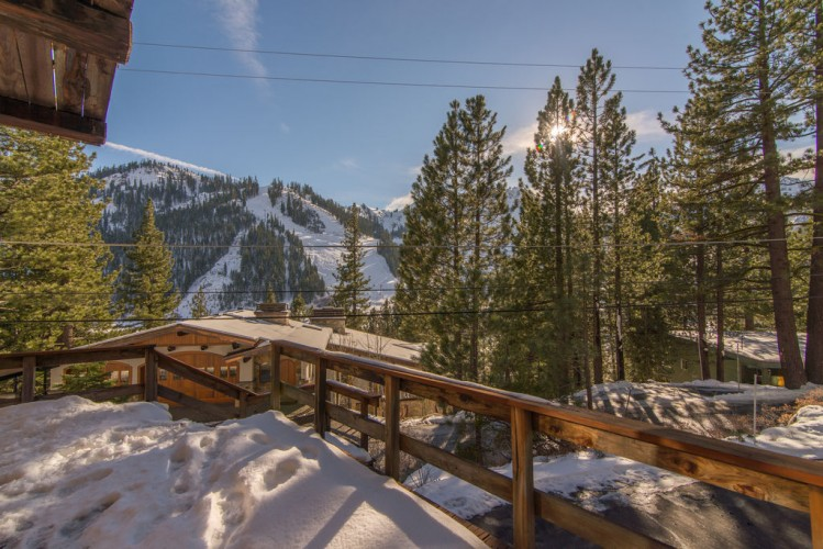 Mountain view in Squaw Valley